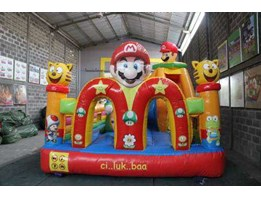 "Jual SLIDING BOUNCER-RUMAHBALON-ISTANABALON- "" Mac MARIO"" 4x6M"