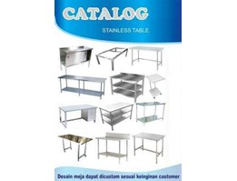 Jual BAKERY & KITCHEN EQUIOMENT STAINLESS STEEL