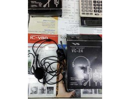 Jual Headset YAESU VC-24 ( Headset with PTT and Vox )