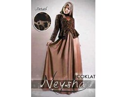 Jual Dress Neysha Leopard