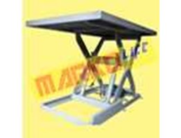 Scissor Lift Table, Single stage, Extra Size Table