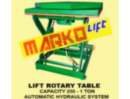 Jual Scissor Lift Table, Table Lifter with Auto Rotary