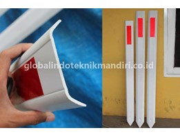 Jual Patok Pengarah uPVC ( Guide Post uPVC)