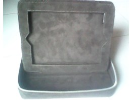 Jual new bag I pad complete leather suede