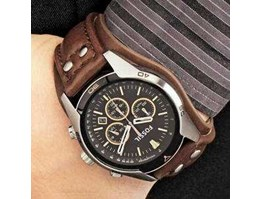 Jual Jam Tangan FossiL Original CH2891 Chronograph Leather