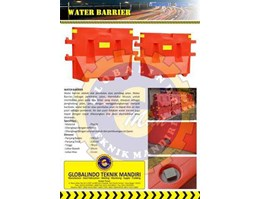 Jual Road Barrier, Water Barrier, Besgard