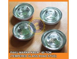 Jual Paku Marka Kaca - 60 Ton ( 360 Degree Tempered Glass Road Marking Reflector)