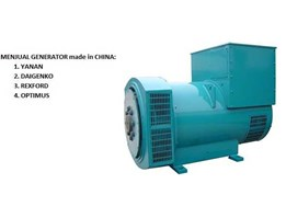 Jual GENERATOR MADE IN CHINA ( MURAH)