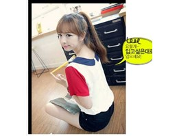 Jual Collar Blouse TRICOLOR