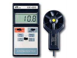 Lutron AM-4202, Anemometers ( vane type, hot wire type) ANEMOMETER w/ temp. 085282731888