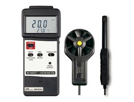 Lutron AM-4205A, Anemometers ( vane type, hot wire type) HUMIDITY/ ANEMOMETER METER + type K/ J temp 085282731888