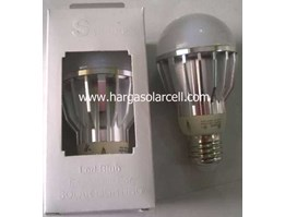 Lampu LED Bulb 12v 5w model fitting untuk solarcell / solar panel