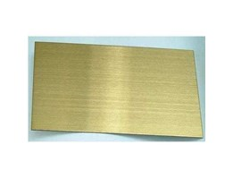 Jual Plat Warna Stainless Steel Color Stainless Plate HL Gold