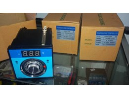Jual TEH 96 -92001 Thermostat Controller / Temperature Control Oven 400 Derajat Celcius, Sensor Thermocouple Type K