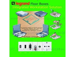 Legrand Floor Box Type Carpet & Stainless steel Floor Deck