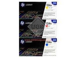 Jual Toner Hp 124A COLOR ( Q6001, Q6002, Q6003)