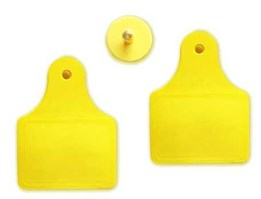Jual VT-100B ( UHF RFID Animal Tag - Cattle Ear Tag)