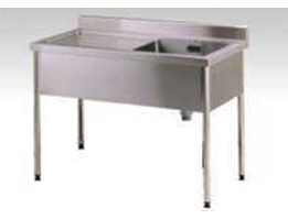 Jual single sink table / bak cuci stainless steel