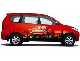 Wrapping Branding Car Stiker