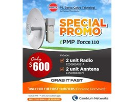 Jual Promo ePMP Force 110 ( Wireless Outdor)