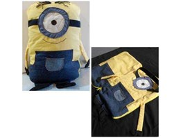 Jual Bantal selimut/ Balmut Minion Quilt Cushion