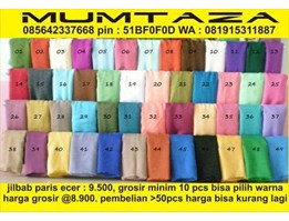 Jual supplier jilbab paris