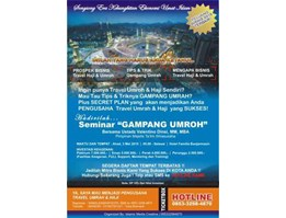 Jual Seminar & Training Program Gampang Umrah