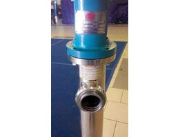Jual VERTICAL + SCREW + PUMP + SS316 + HYPALON