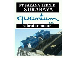 Jual VIBRATOR MOTOR QUANTUM, CERAMIC INDUSTRI, VIBRATING SCREEN