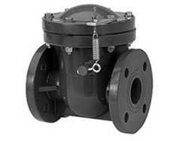HORIZONTAL SWING CHECK VALVE & WITH SPRING ASSIST