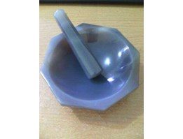 Jual Agate Mortar With Pestle, ID 100 mm