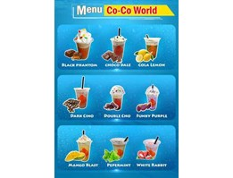 Jual Franchise Co-co World Ice Blend