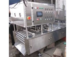 Jual Automatic fill form sealer cup machine 8 line servo motor driven