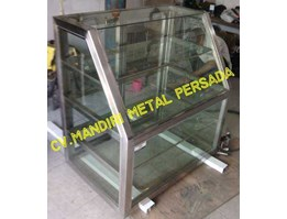 Jual Stainless Steel Etalase / Display