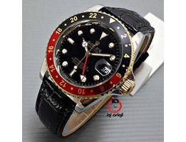 Jual Rolex GMT Master Black Red