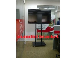 jual bracket tv lcd led plasma model standing floor dan wall standar cieiling swivel
