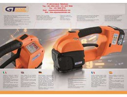 Jual Battery Strapping Tool / Semi Automatic Strapping Tools / Mesin Pengikat / Mesin Strapping / SIAT / Type GT One