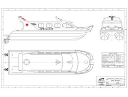 Jual Speed Boat Ambulance (Medivac)