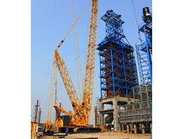 High-performance load moment indication and control solution for small lattice boom crane