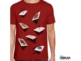 Kaos 3d Umakuka Original Playing Cards