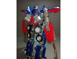 Jual Transformer Optimus Prime with Sword and Gun