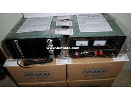 DC Regulated Power Supply DAKAI 40A ( 9 Volt - 15, 5 Volt 40 Amper )
