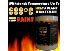 Jual Cat Tahan Panas 600 derajat - High Temperature - Heat Resistant Paint