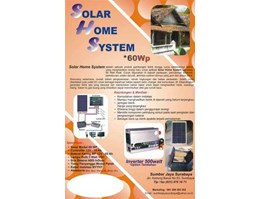Jual Solar Home System 60wp