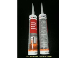 NEUTRAL SILICONE SEALANT MULTI PURPOSE WURTH @ 300 ml