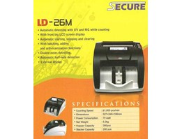 Jual Money Counter Secure LD-26M