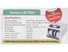 Jual Money Counter Secure LD-78A