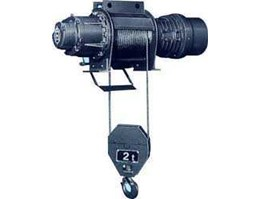 Jual Distributor Electric Wire Rope Hoist Hitachi 2 Ton