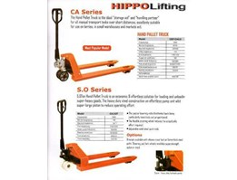 Hand Pallet Truck or Hand lift