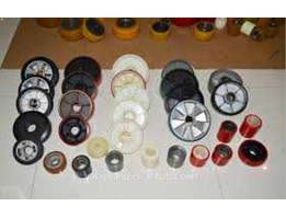 Relining tire caster, relining tire drive untuk Forklift FBR, relining ban forklift, Hand Pallet dll